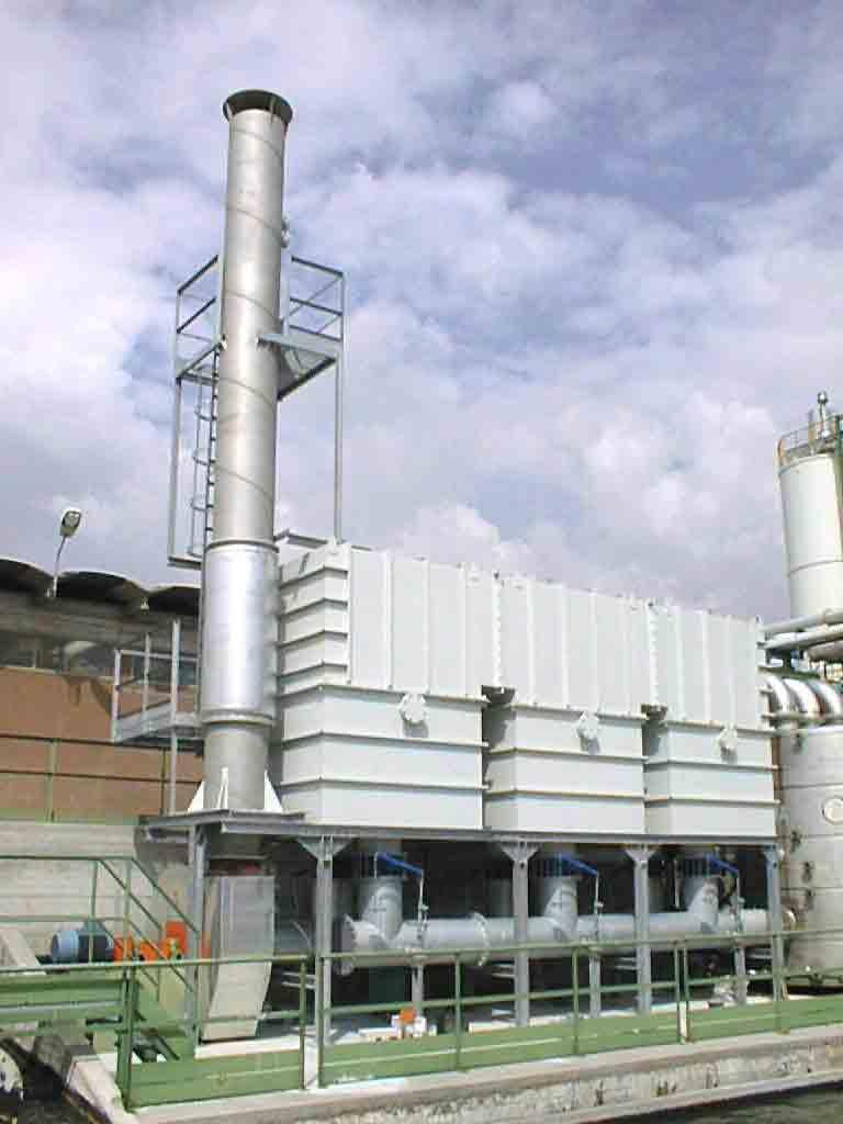 蓄热式催化燃烧炉(RCO)有机废气处理设备