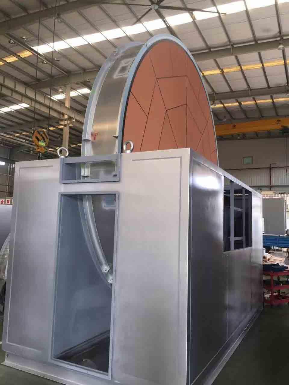 沸石转轮浓缩有机废气处理装置