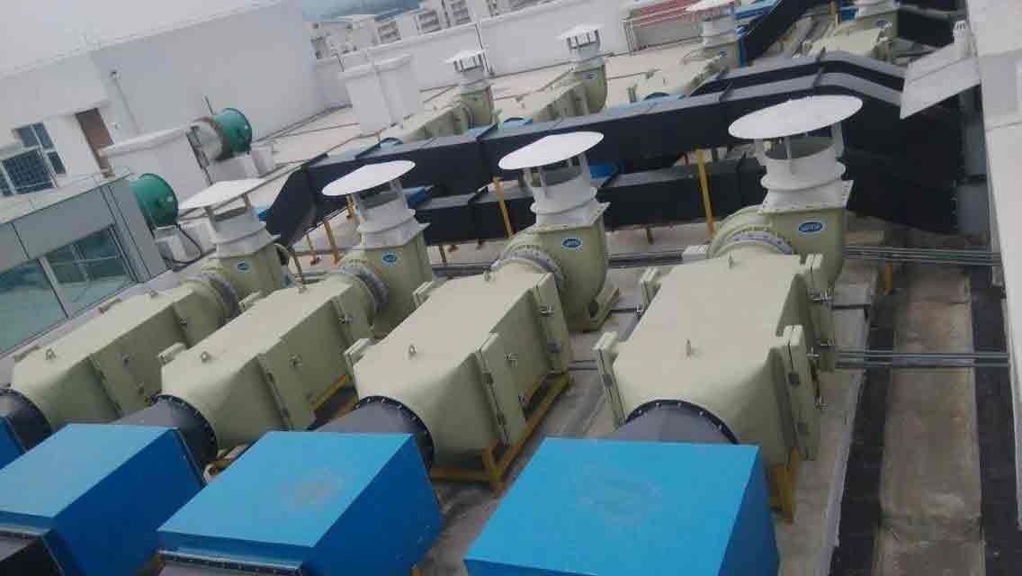 油烟净化-中国兵器集团油烟净化工程