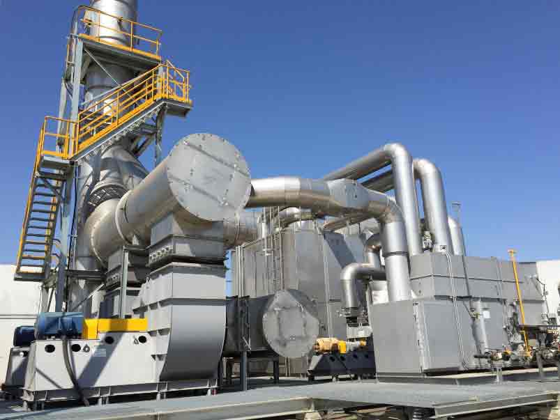 直燃式焚烧炉(TO)有机废气处理设备