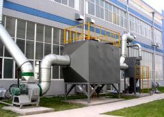 活性炭吸附方法处理有机废气