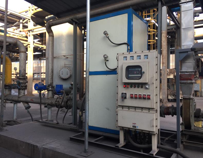 富越化工脱硫再生槽尾气催化燃烧