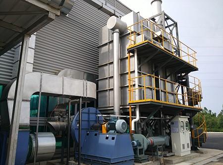 美国卡特蓄热式催化燃烧工程RCO