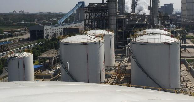 重油储罐油气回收装置
