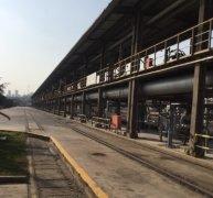 火车装车尾气处理设施