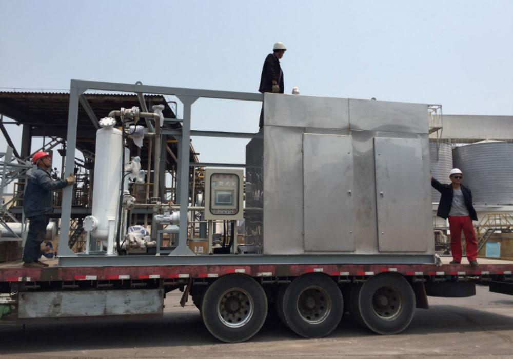 冷凝式油气回收装置