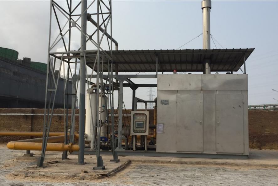 冷凝式吸附油气回收装置