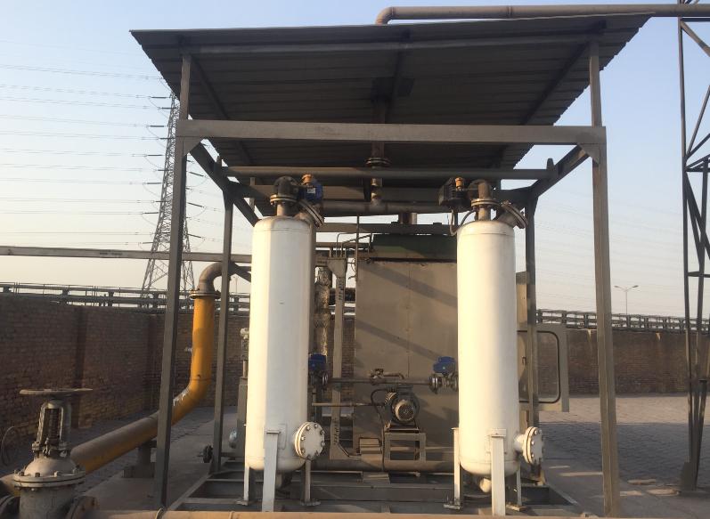 安装油库油气回收装置