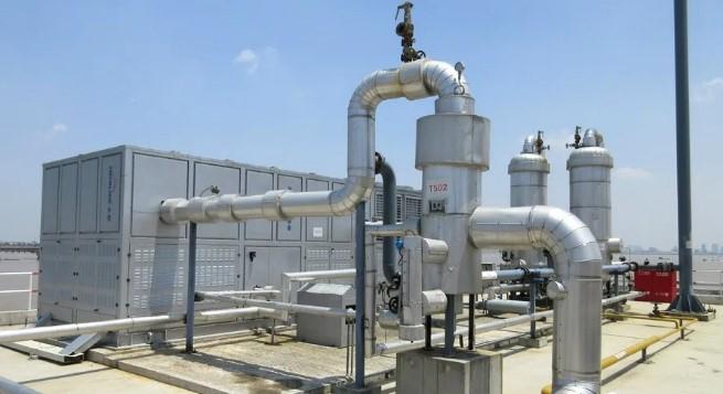 煤油废气冷凝回收装置