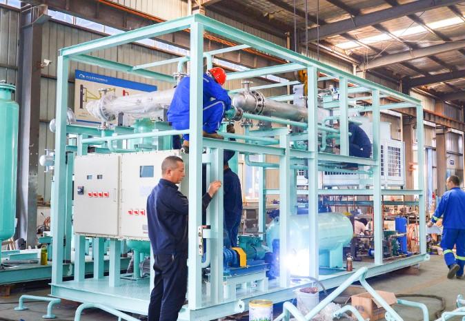 异丙醇废气冷凝回收装置
