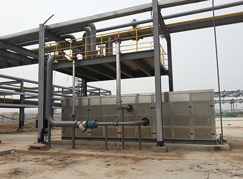 丙烯醛废气冷凝回收装置