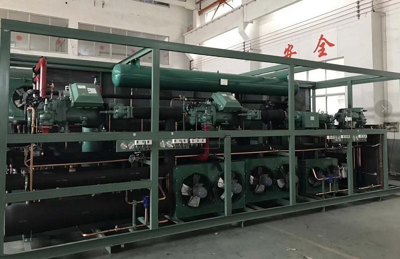 碳氢清洗剂废气冷凝回收装置