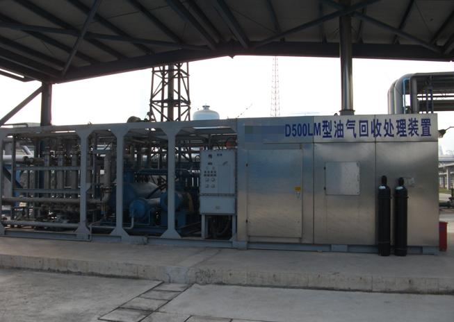 苯胺废气冷凝回收装置